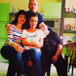 Родители Юлии Волковой