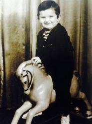 Кузьма Скрябин в детстве