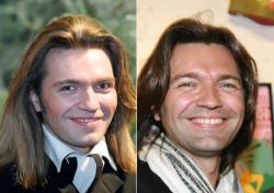 Дмитрий Маликов в 1994 году и 2009 году