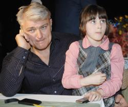 Владимир Турчинский с дочерью Ксенией