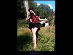Фотосессия Сати Казановой для «InStyle»