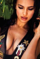 Ирина Шейк в рекламе Aqua Bendita