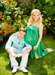 Лилия Ребрик накануне родов снялась в фотосессии