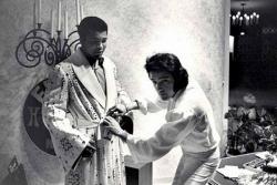 Мухаммед Али и Элвис Пресли перед боем Мухаммеда против Кена Нортона, 31 марта 1974 года
