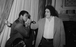 Мухаммед Али и Андре Гигант