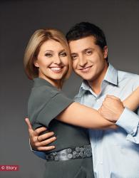 Фотосессия Владимира Зеленского с женой