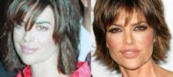 Лиза Ринна в 1997 году и 2007 году