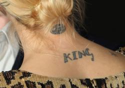 Татуировки Джейми Кинг