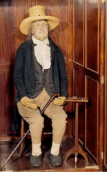 Восковая фигура Джереми Бентама