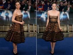 Современные платья знаменитостей в стиле ретро