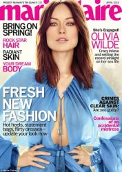 Оливия Уайлд для Marie Claire US, апрель 2013