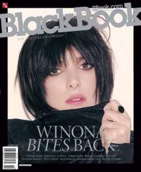 Вайнона Райдер для BlackBook Magazine