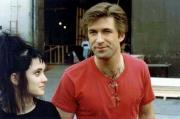 "Вайнона Райдер и Алек Болдуин на съемках фильма ""Битлджус"", 1988 год"