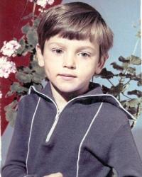 Сергей Аморалов в детстве