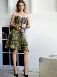 Кристен Стюарт в журнале Vogue Us