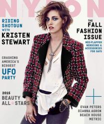 Кристен Стюарт для Nylon, сентябрь 2015