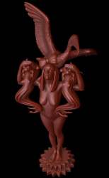 Статуя Гаги