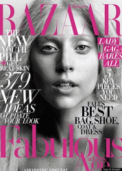 Леди Гага для Harper's Bazaar