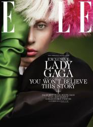 Леди ГаГа в фотосессии Рут Хокбен для журнала ELLE US, октябрь 2013