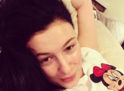 Анастасия Приходько без макияжа