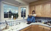 Стив Джобс в своем доме в Лос-Альтос, 1979 год