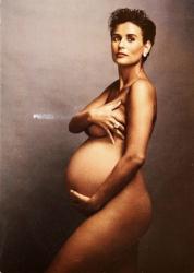 Скандально известная фотография Деми Мур, август 1991 года
