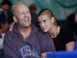 Деми Мур и ее оба мужа