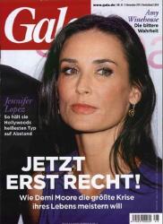 Деми Мур на обложках журналов