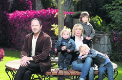 Сергей Тигипко с семьей