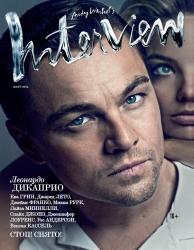 Леонардо ДиКаприо и Марго Робби для российского выпуска Interview Mag, март 2014