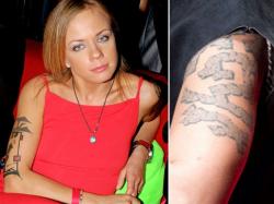 Татуировка Елены Перовой