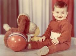 Михаил Галустян в детстве