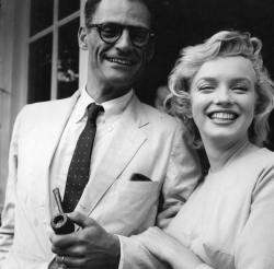 Мэрилин Монро и Артур Миллер, 1956 год