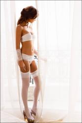 Фотосессия Мартины Валковой в нижнем белье