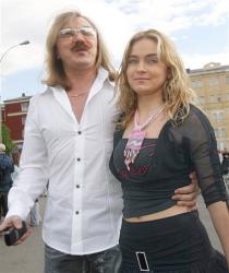 Игорь Николаев с дочерью Юлией