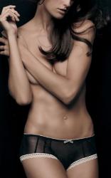 Изабель Гулар лицо каталога белья Nordstrom
