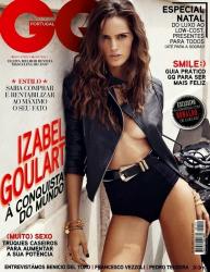 Изабель Гулар для GQ Portugal, декабрь 2013