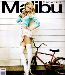Мариса Миллер в журнале Malibu