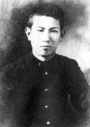 Акира Куросава в молодости