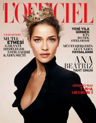 Ана Беатрис Баррос для L'Officiel Turkey, декабрь 2013