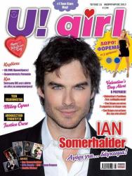 Йен Сомерхалдер на обложках журналов