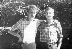 Николай Азаров в детстве