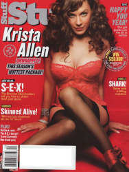 Криста Аллен на обложках журналов