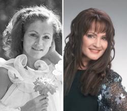 София Ротару в 1987 году и 2009 году