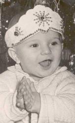 Михаил Бродский в детстве