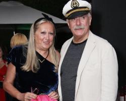 Никита Михалков и жена Татьяна
