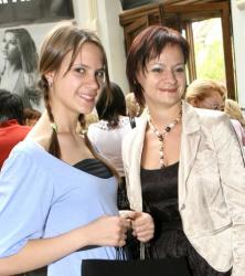 Кира Пластинина с мамой Татьяной