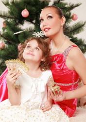 Евгения Власова с дочкой Ниной