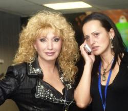 Ирина Аллегрова с дочерью Лалой