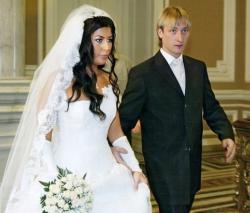 Свадьба: Евгения Плющенко и его первой жены Марии